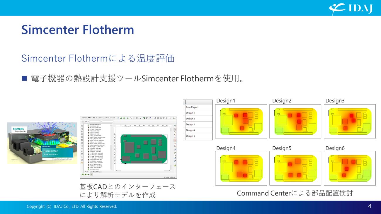 電子機器専用熱設計支援ツール Simcenter Flotherm(1)