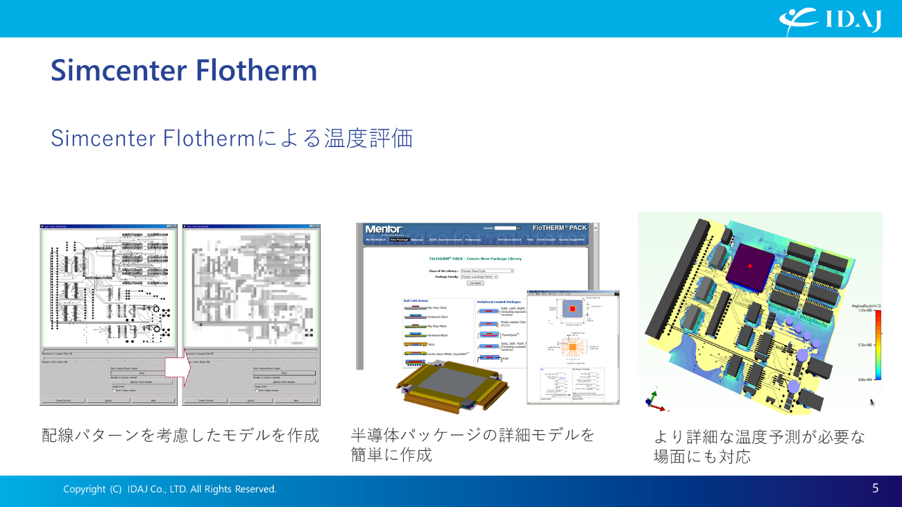 電子機器専用熱設計支援ツール Simcenter Flotherm(2)